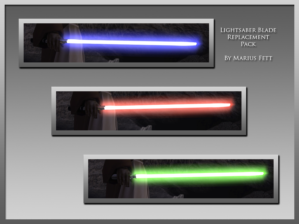 lightsaber blade replacement pack  tsl