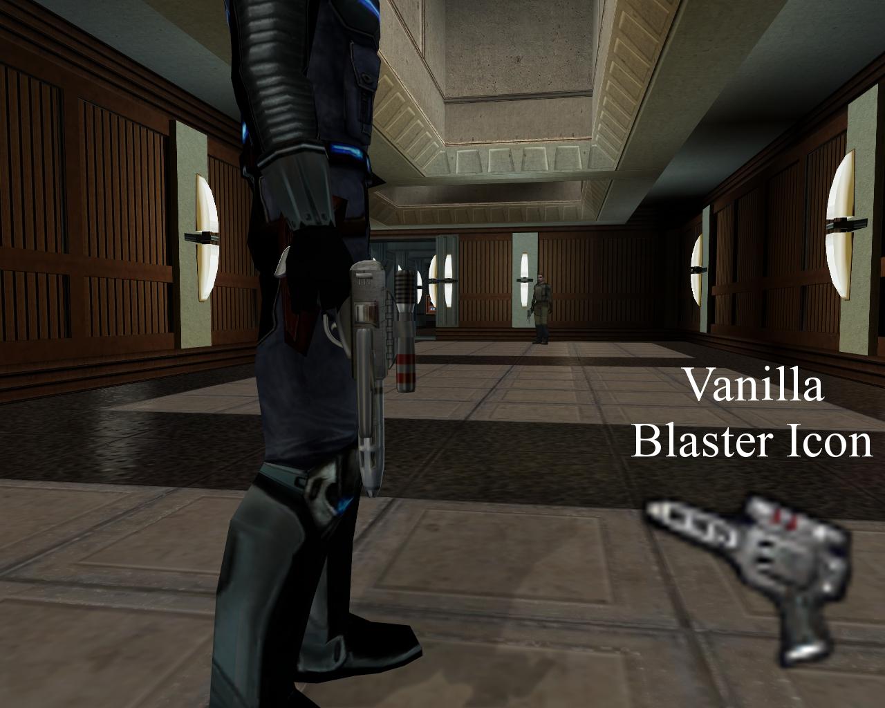 Blaster Pistol Enhancement