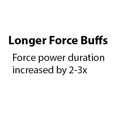 Increased Force Buff Durations