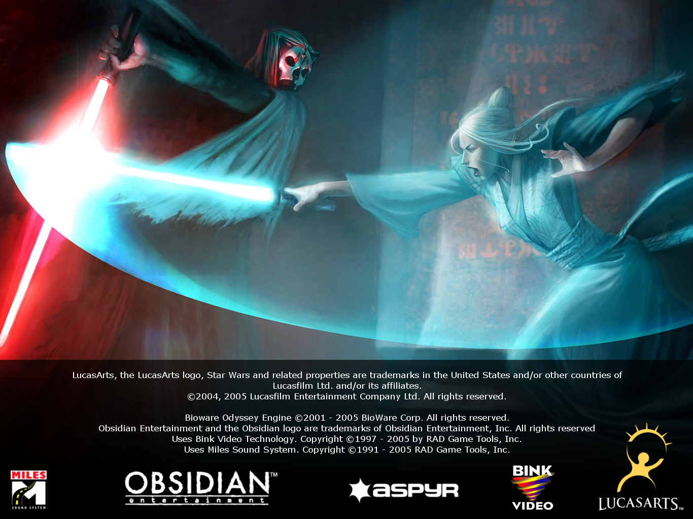 New Legal Screens for KOTOR and TSL - Media - Deadly Stream