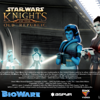 Knights of The Old Republic - Deadly Stream