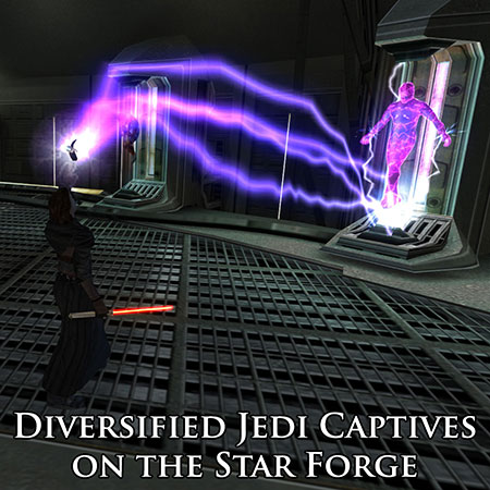 Diversified Jedi Captives on the Star Forge