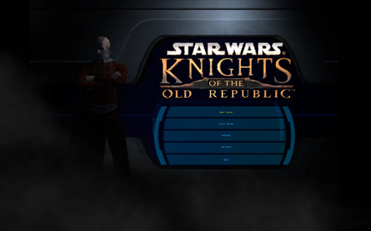 KotOR High Resolution Menus