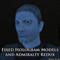 Fixed Hologram Models and Admiralty Redux for TSLRCM