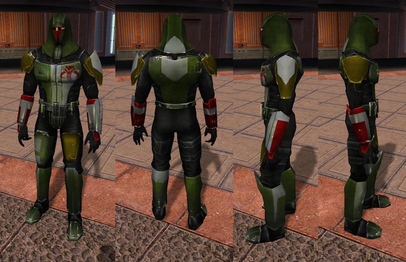 Cassus Fett's Unique Armor