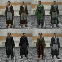 Movie-style Jedi Master robes