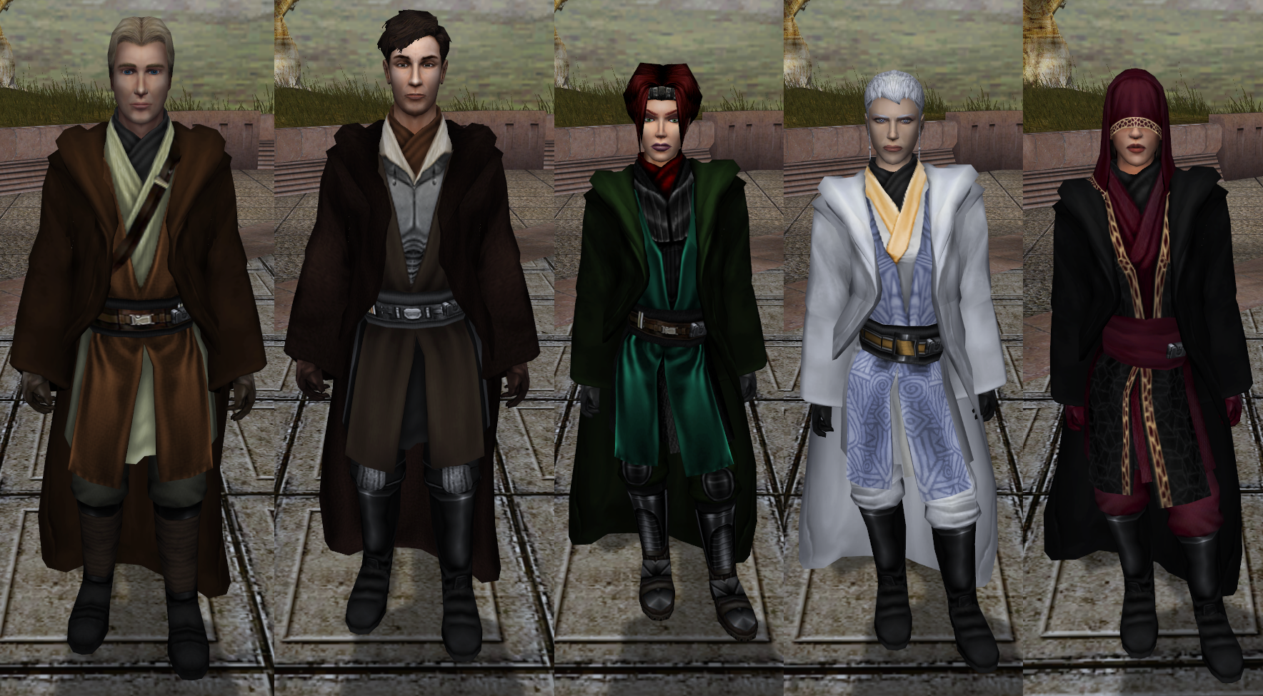 Companions' Robes
