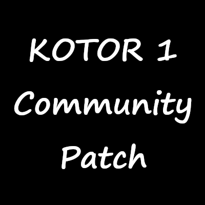 KOTOR 1 Community Patch