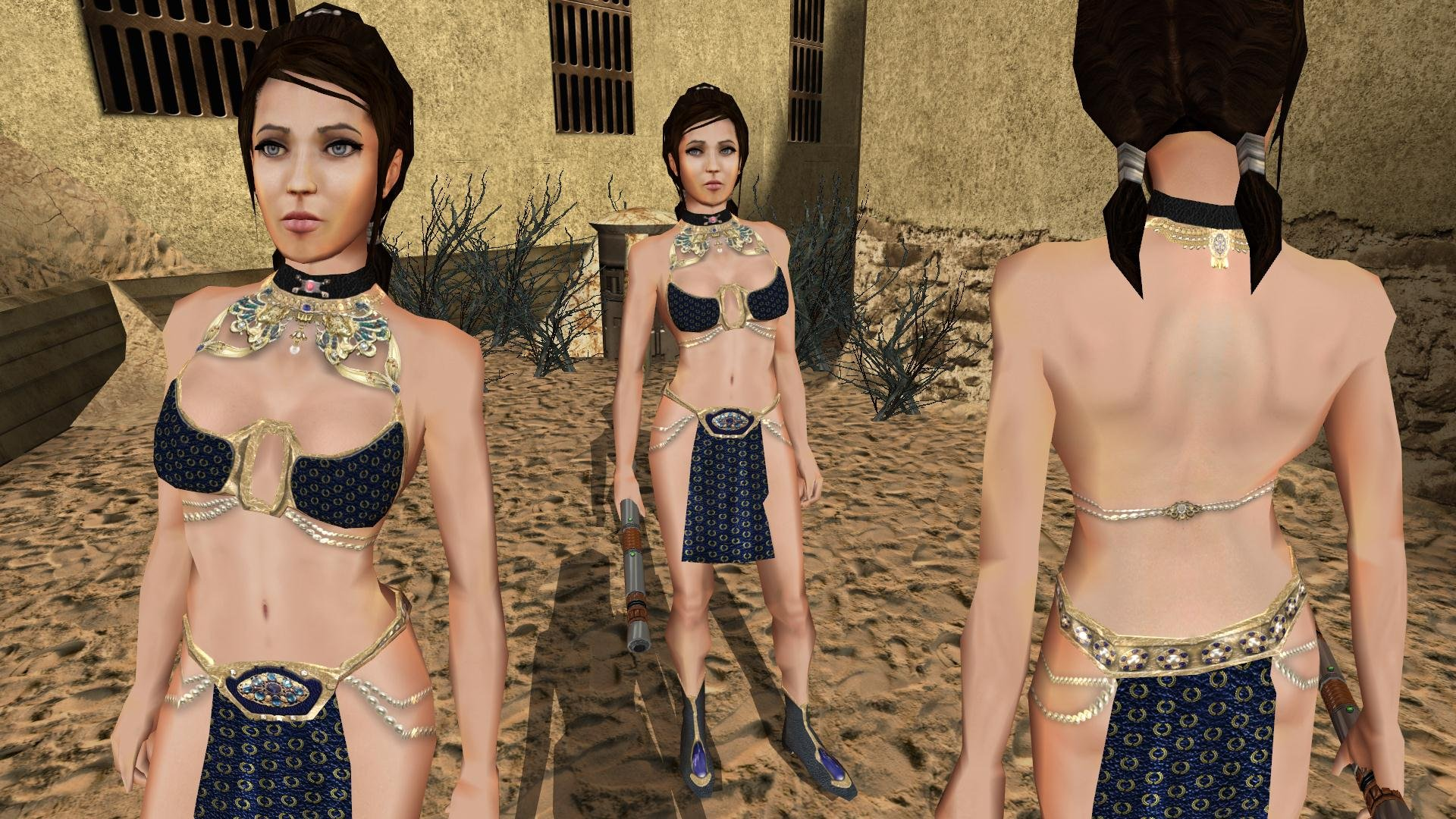Exotic costume of Bastila