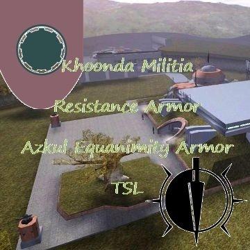 Khoonda Militia Resistance Armor / Azkul Equanimity Armor - TSL