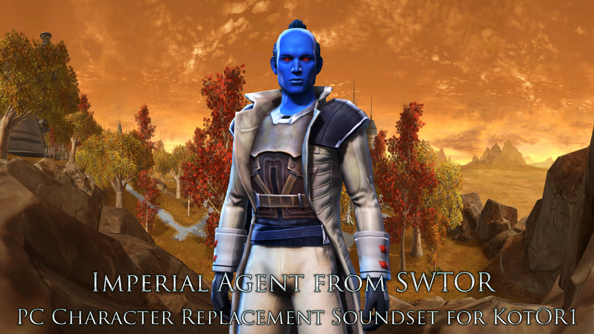 [K1] Imperial Agent (Male) - PC Replacement Soundset