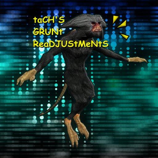 [K1] Tach's Grunt Readjustments