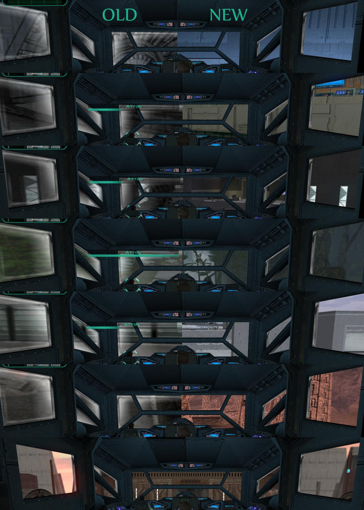 TSL HD Cockpit Skyboxes