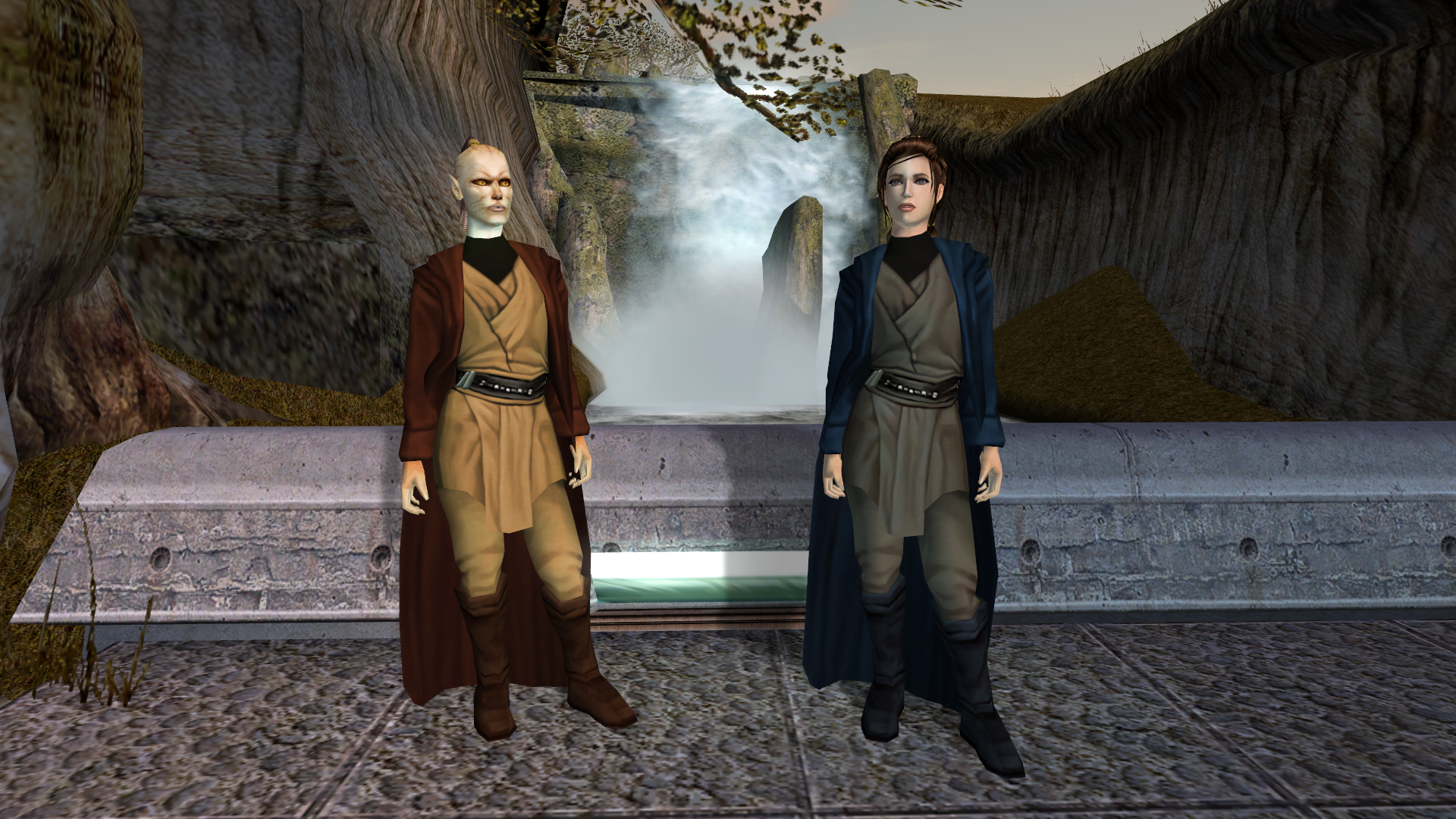 Jc S Fashion Line I Cloaked Jedi Robes For K1 Mods Deadly Stream