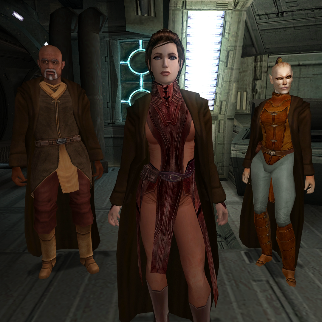JC's Fashion Line I: Cloaked Party Robes for K1