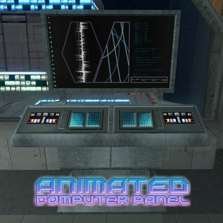 [TSL] Animated Computer Panel