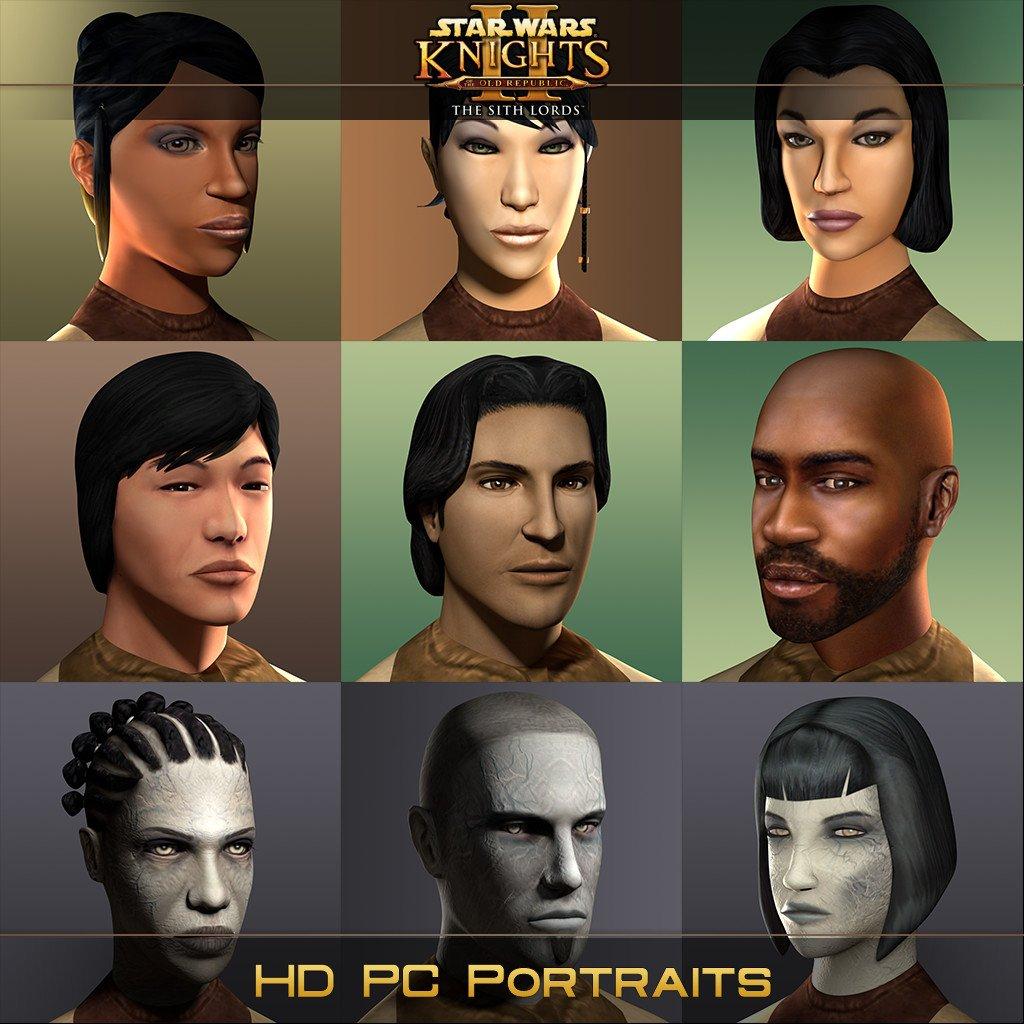 HD PC Portraits