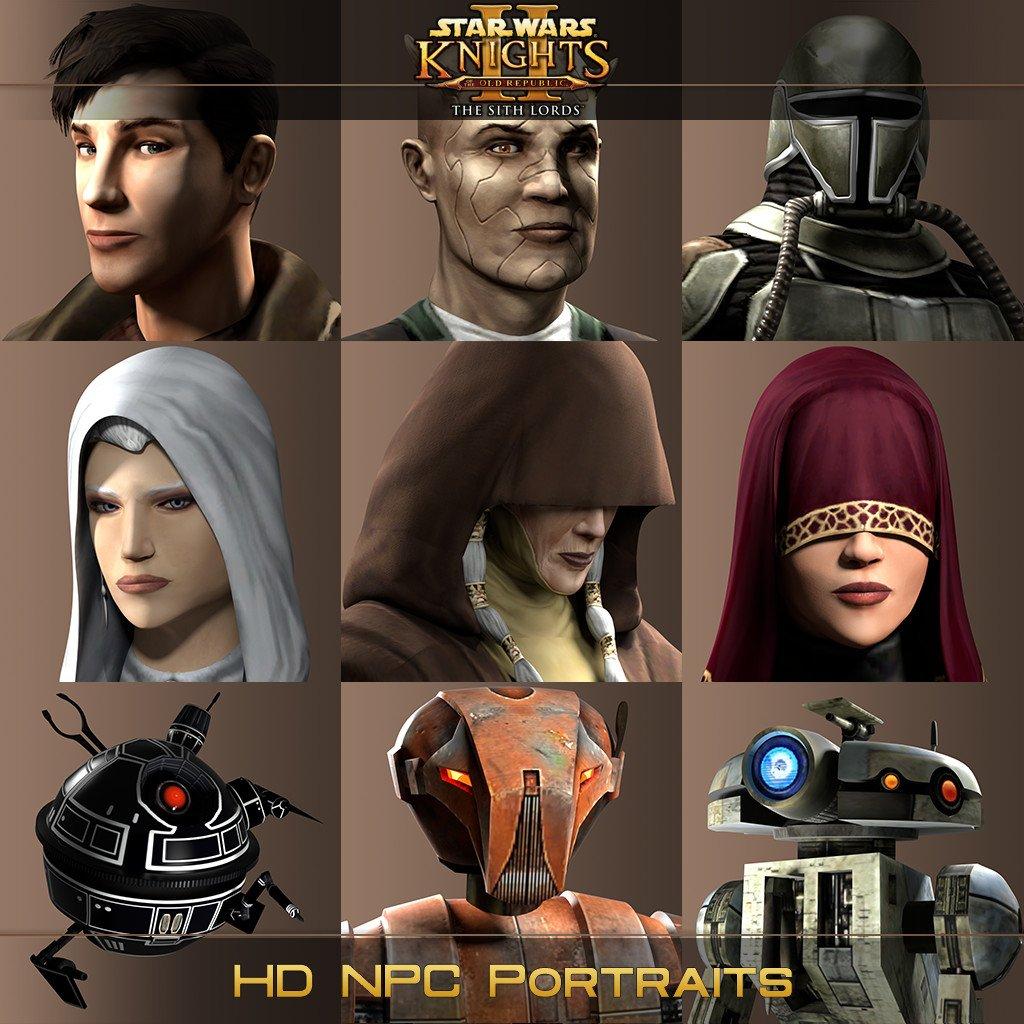 HD NPC Portraits