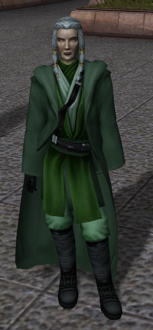 Movie-style Jedi Master Robes and Kreia Visible Body Models Compatibility Patch