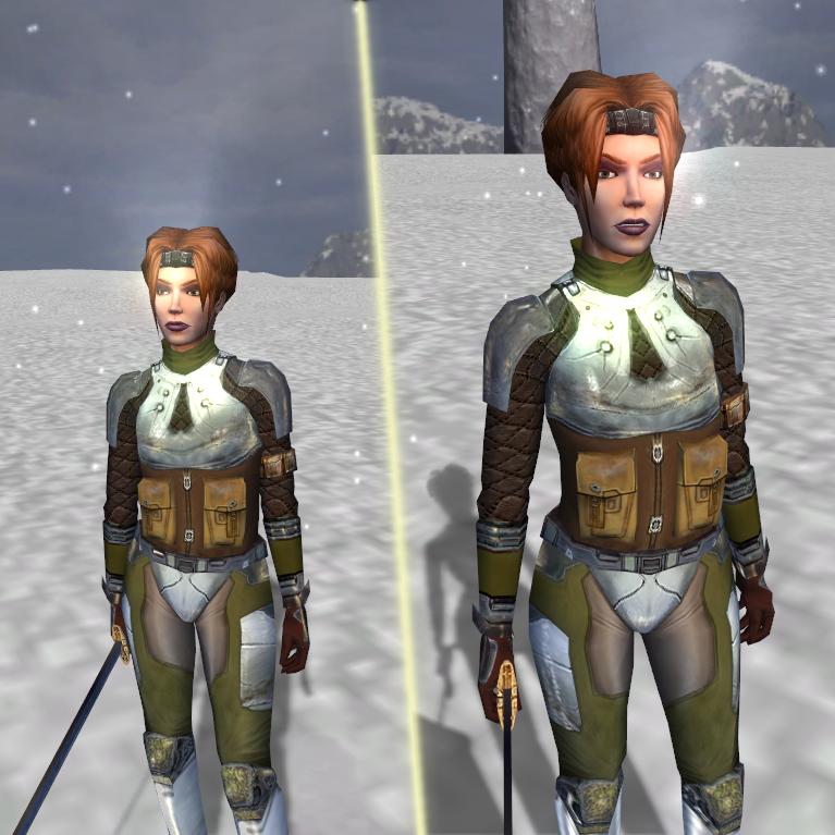 K2 Armor Nitpicks