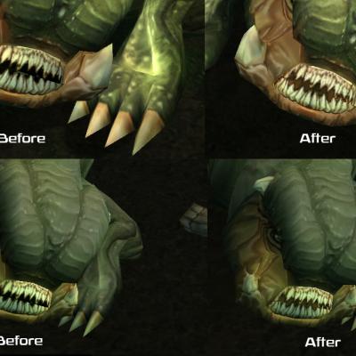 Boma Beast Teeth Fix