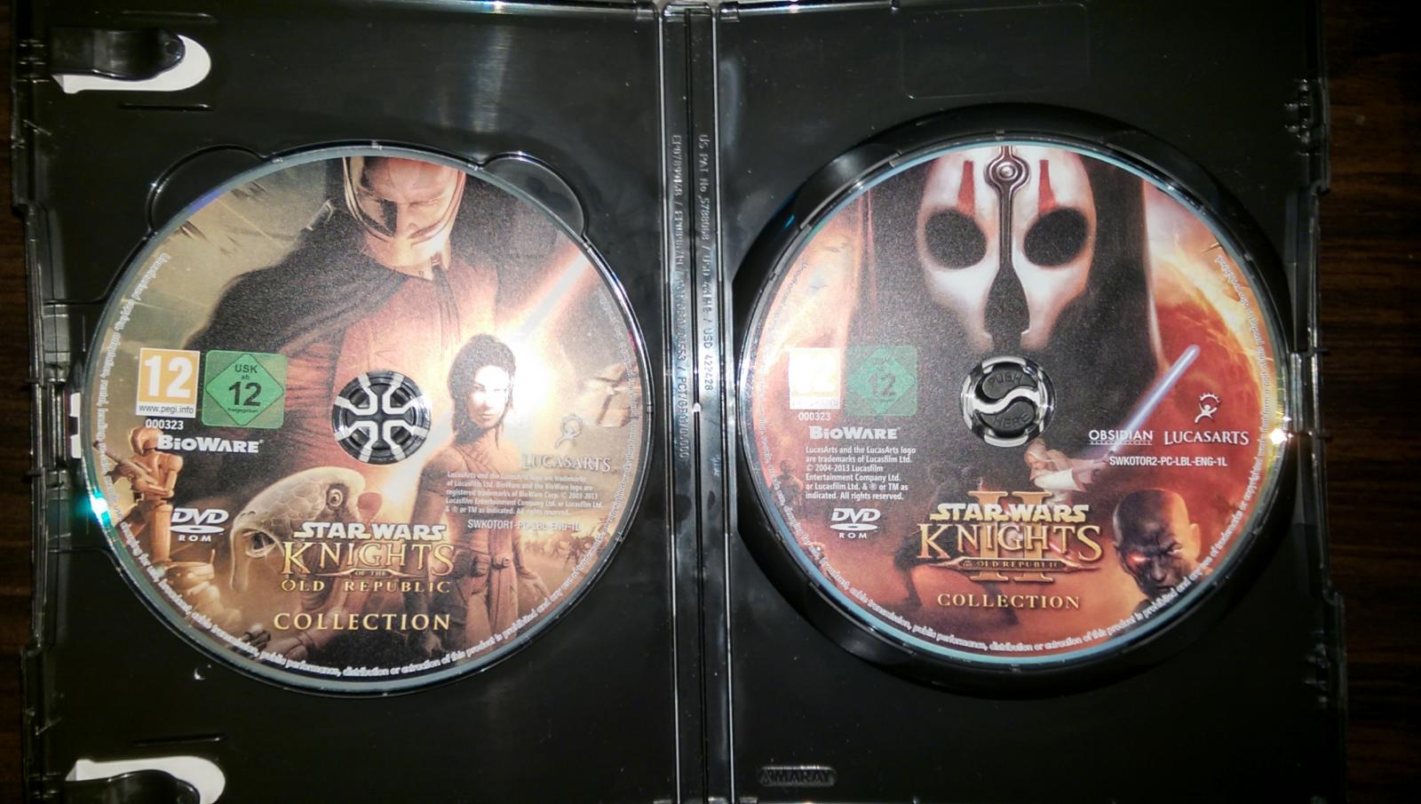 Can't update the games - Knights of the Old Republic General