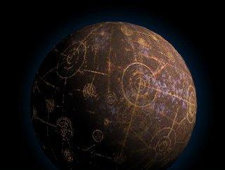 Coruscant Planet Texture