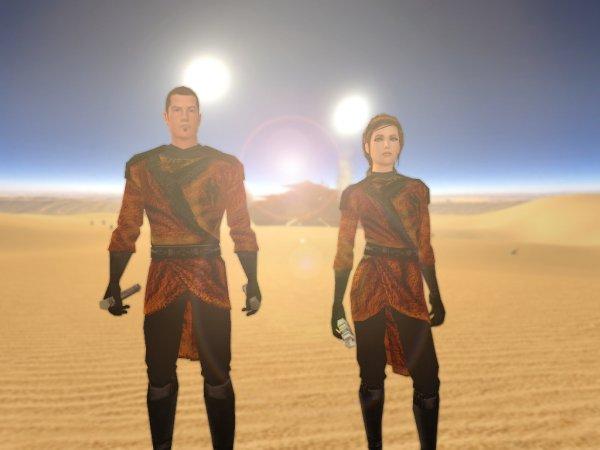 Sith Desert Robes