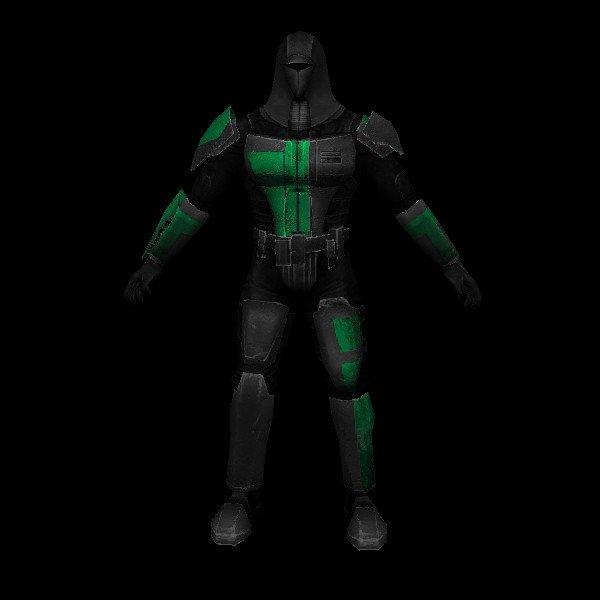 N Mandalorian02   black And green