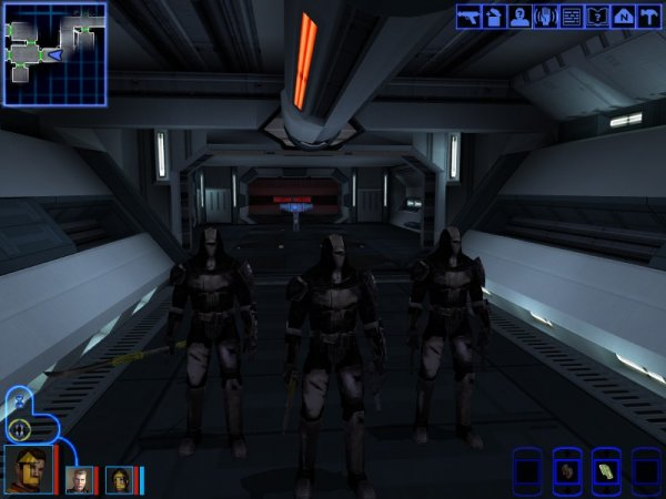 Mandalorian Death Squad On a Stealth Mission Aboard the Leviathan