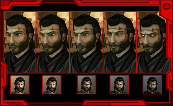 Scared Revan Head
