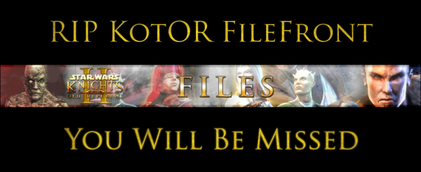 RIP KotOR FileFront