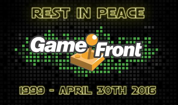 GameFront logo RIP