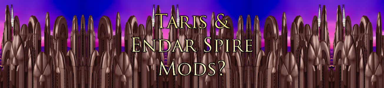 Blog #72 - Looking for mods for Taris and Endar Spire