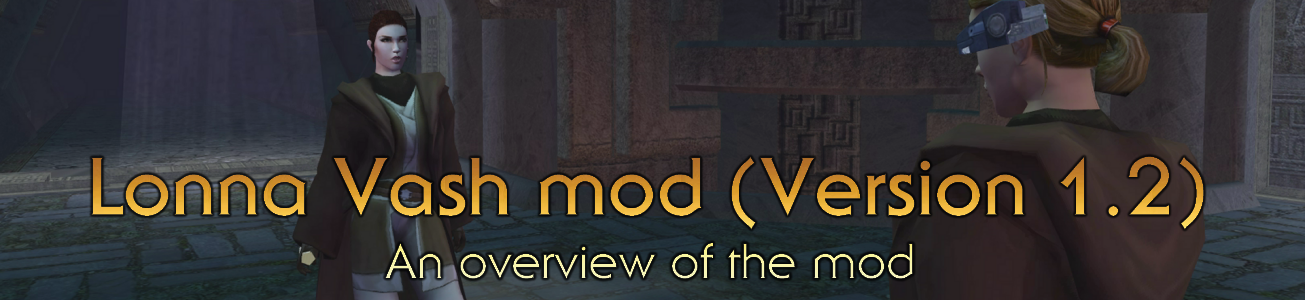Blog #81 - Lonna Vash Mod (Version 1 2)
