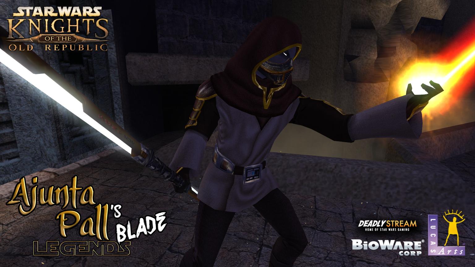 Ajunta Pall's Blade 'Legends' [Poster-trailer]
