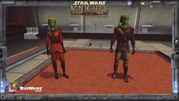 Jedi Knights - Master Tar'eelok and Garrum the Apprentice