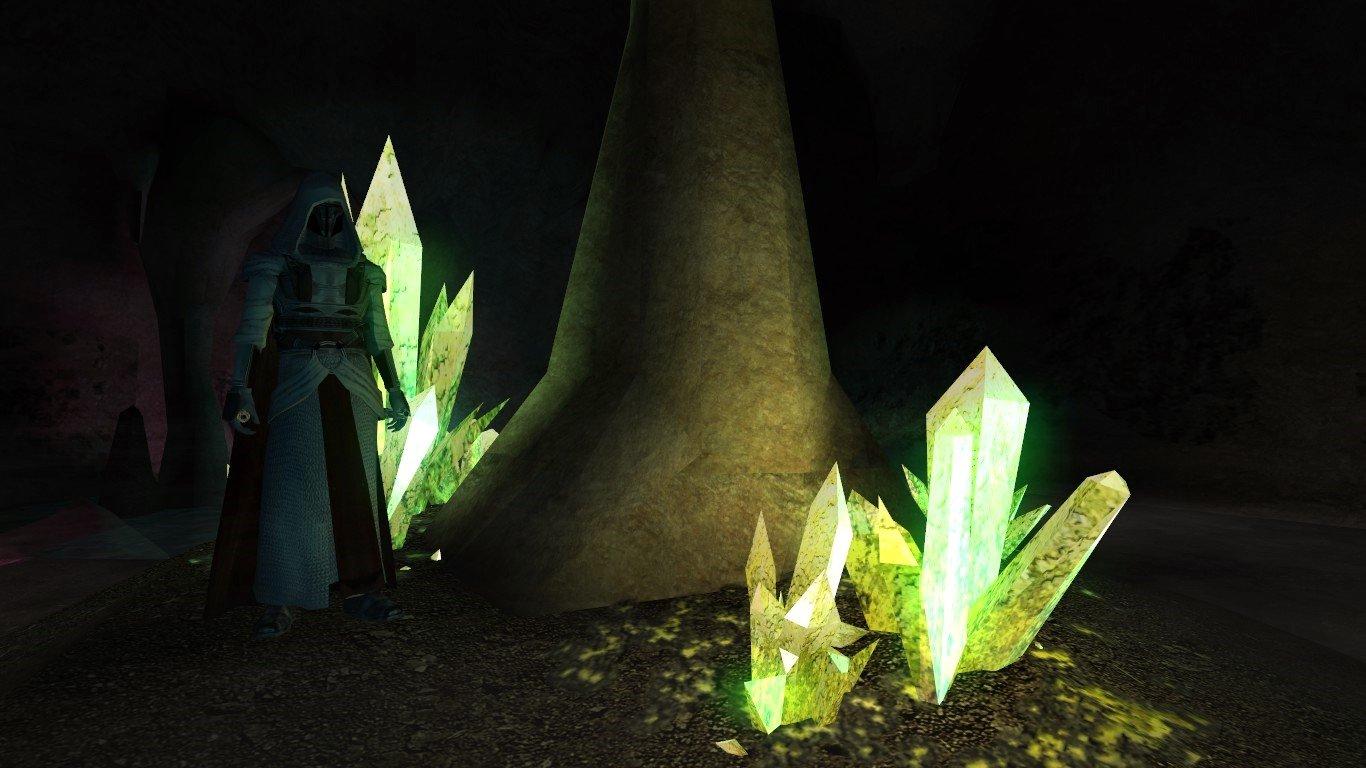 Dantooine Crystal Cave