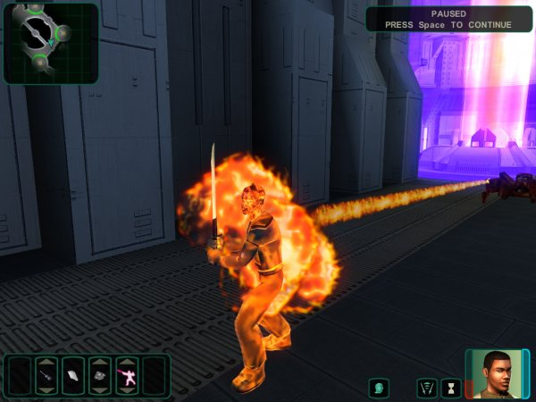 Fire Effect Droid Flamethrower