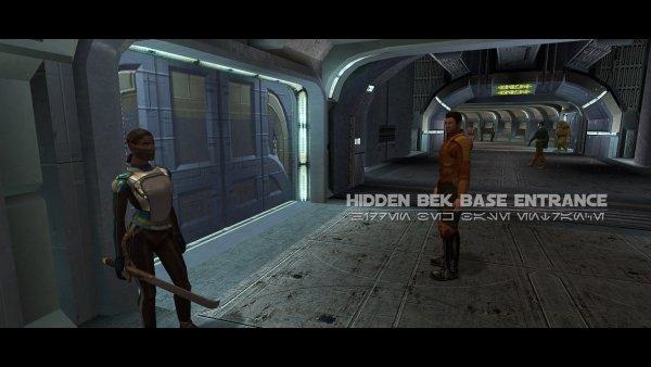 The Lower City: Hidden Bek Base Entrance