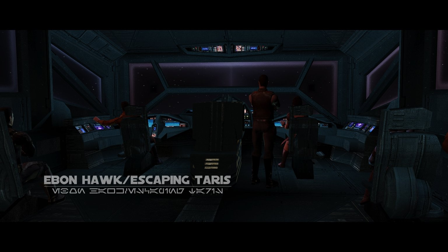 Ebon Hawk: Escaping Taris