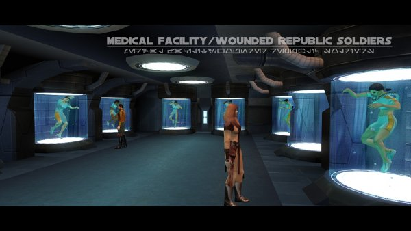 Medical Facility: Wounded Republic Soldiers