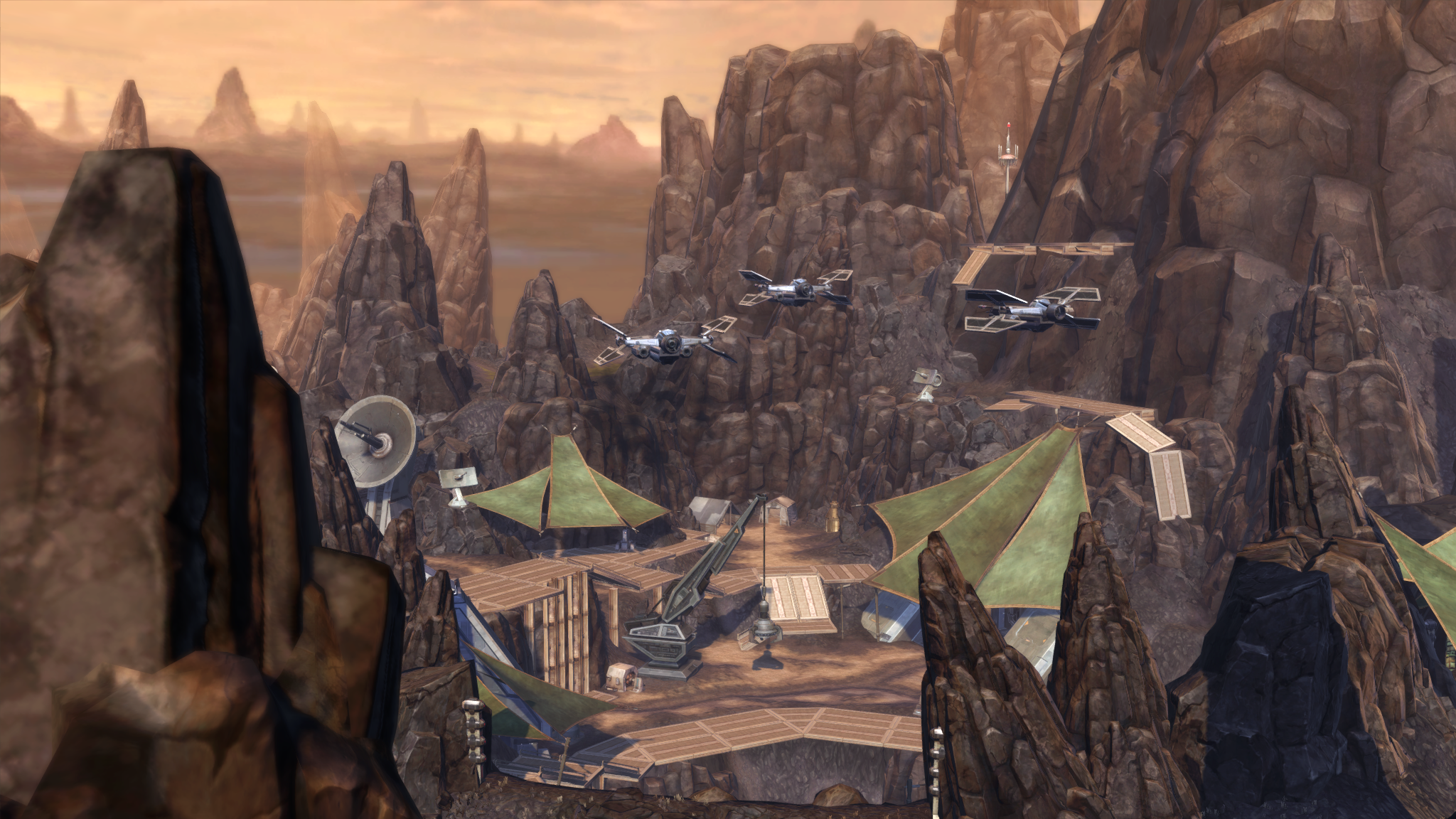 Star Wars - The Old Republic - Balmorra - k - Outpost Victory