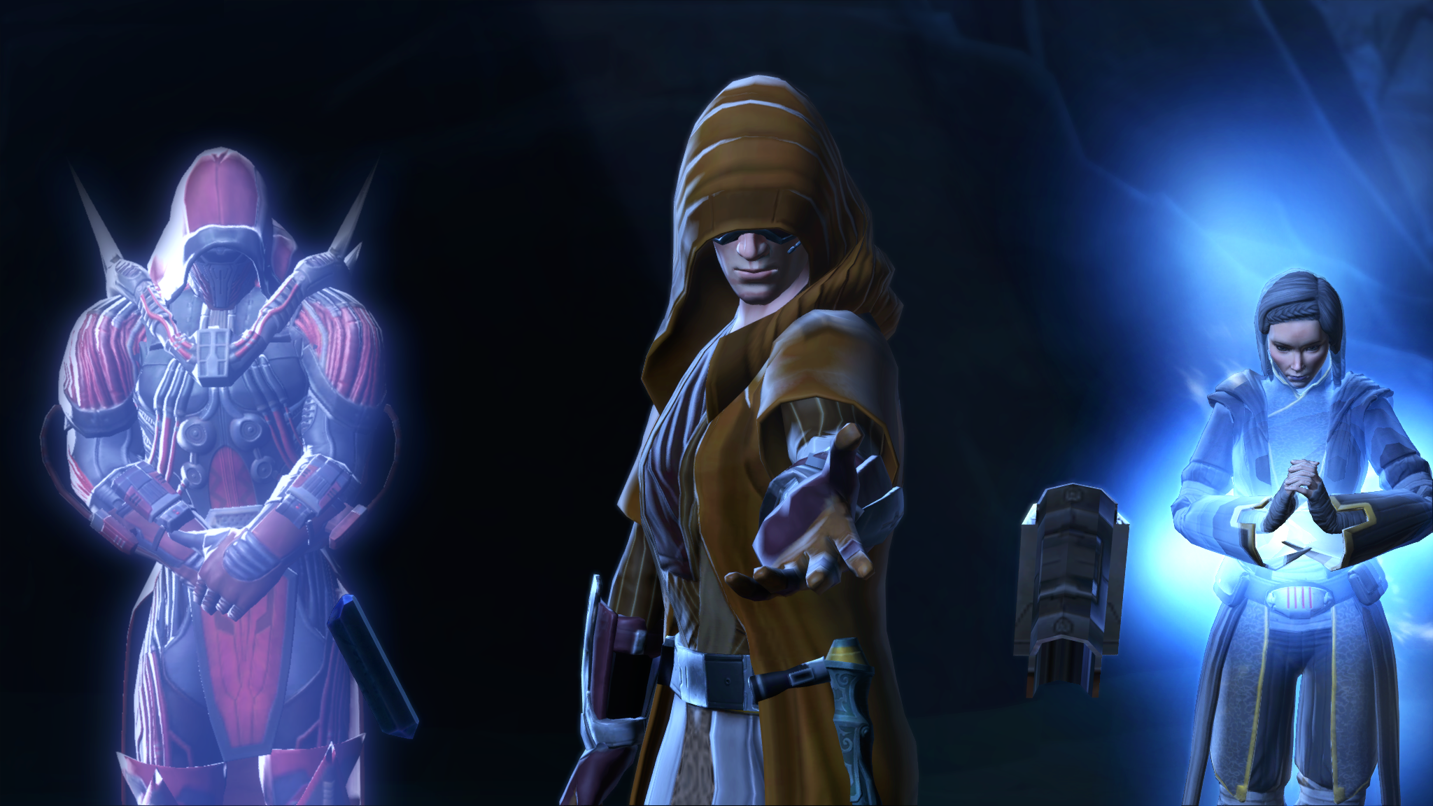 SWTOR - KOTFE - Emfour , Satele Shan and Darth Marr - a