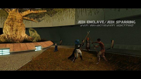 Jedi Enclave: Jedi Sparring