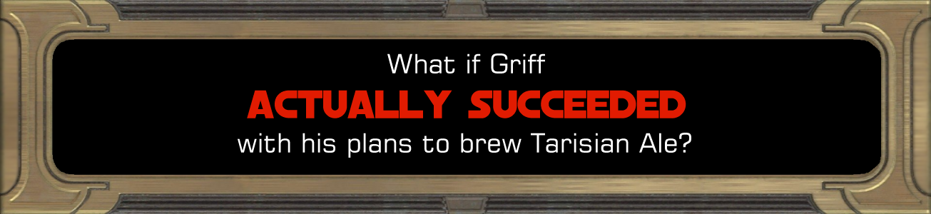 Blog #79 - What if Griff succeeded?