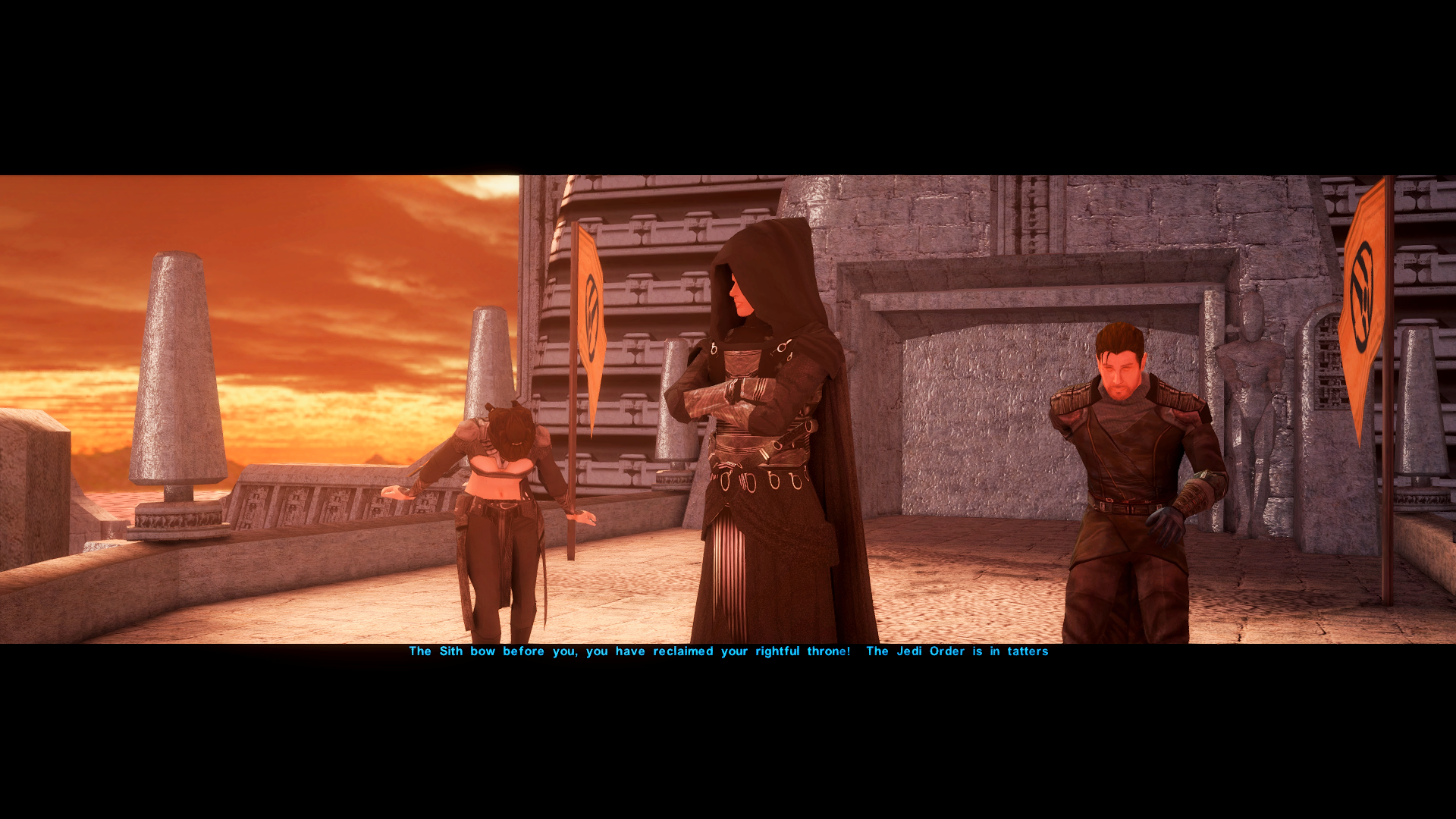 Revan Brain Washes Carth Into a Galactic Simp