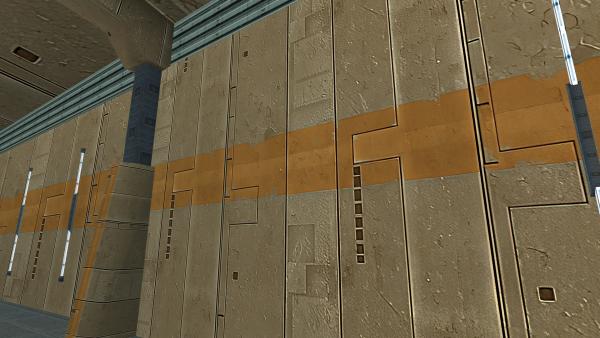 New Telos walls