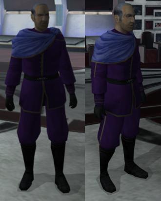 Custom Robe for Davik